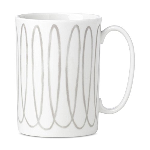 - kate spade New York 867957 Charlotte Street West Grey Mug