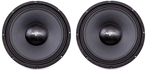 (2) Skar Audio FSX10-4 400-Watt 10-Inch 4 Ohm Mid-Range Loudspeakers - 2 Speakers