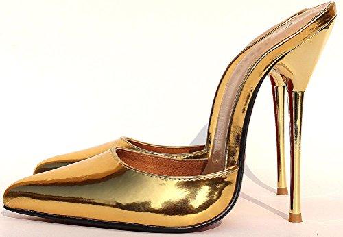 Shut Gold Con Up Caviglia La Dietro Cinturino Donna wwSrq0