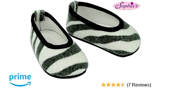 """Leopard Print Ballet Flat Shoes 18/"""" Doll Clothes Fits American Girl Dolls"""