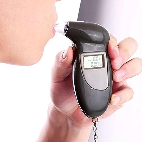 Amazon.com: Digital Alcohol Breath Tester alcoholímetro ...