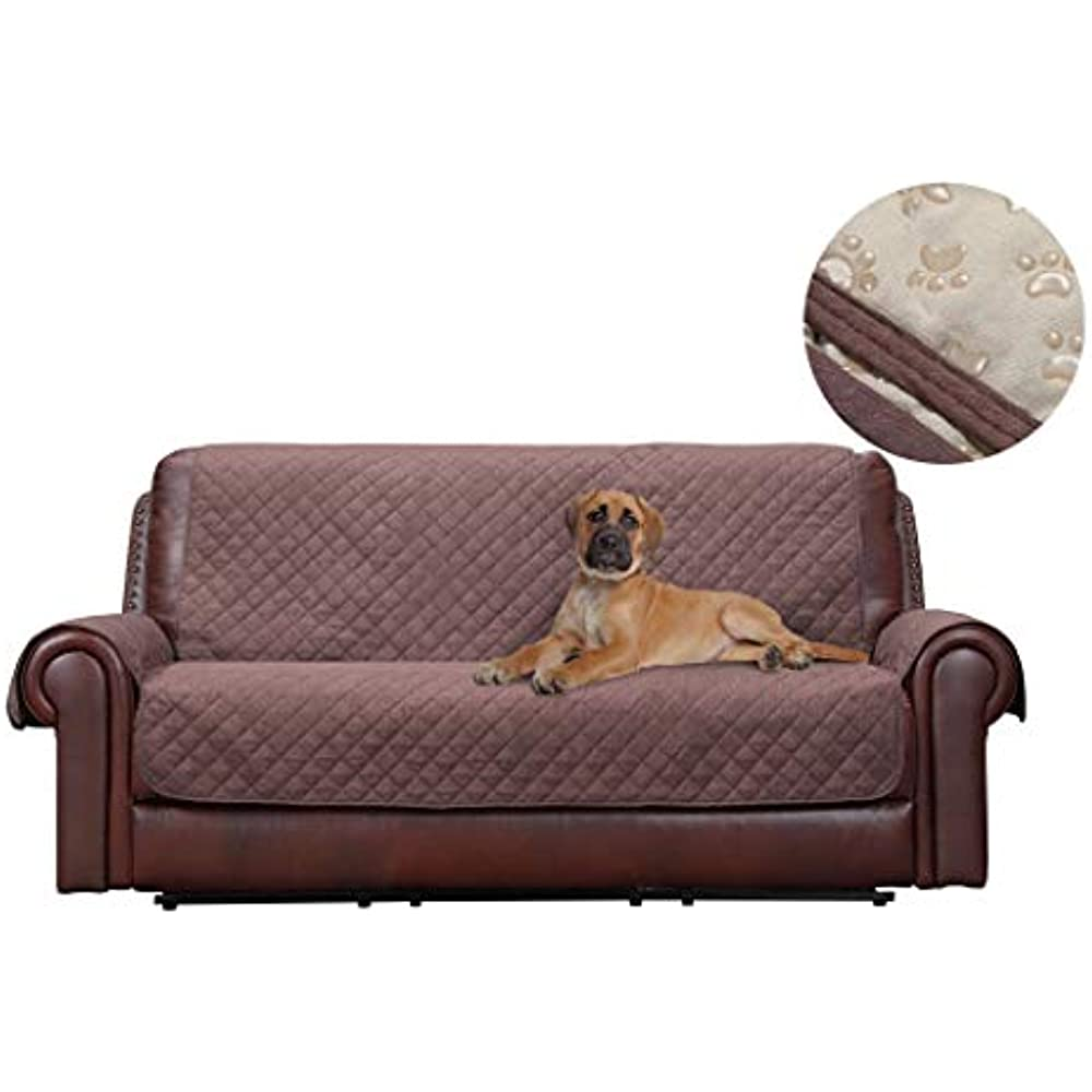 Cool Details About Premium Couch Slipcover Leather Sofa Non Slip Water Resistant Protector Dogs X Pabps2019 Chair Design Images Pabps2019Com