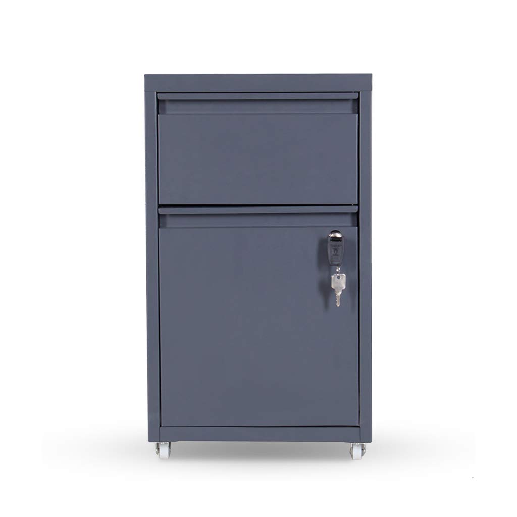 QSJY File Cabinets Filing Cabinet, Office Storage Cupboard (Steel),274553CM (Color : B)