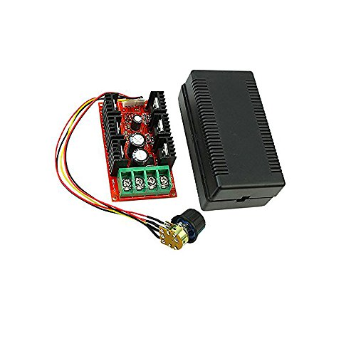Greatwell DC 10-50V 40A Motor Speed Control PWM HHO RC Controller 2000W 12V 24V 48V