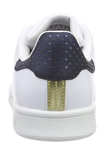 Multicolor para Azul adidas Dorado Smith W Stan Zapatillas Mujer Blanco 4WwnqUZTnx