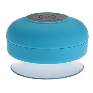 DecentGadget - Mini Altavoz portátil impermeable e inalámbrico con Bluetooth 3.0 para Ducha o Piscina