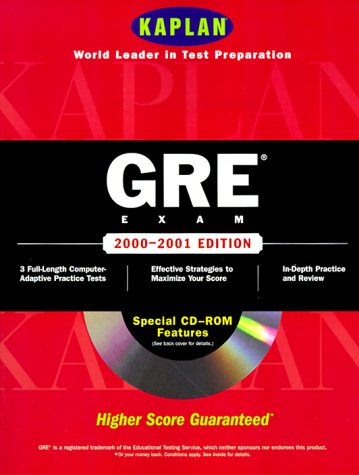 Kaplan Gre Exam 2000 2001 With Cd Rom (Gre (Kaplan)(Book & CD-Rom))