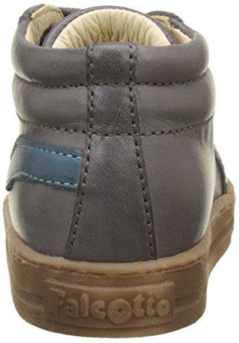 Falcotto Baby Jungen Jordan Lauflernschuhe Für Babys Gris (Antracite Jeans)
