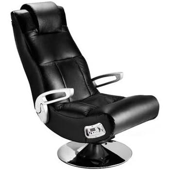 Ace Bayou Xfunctional Media Furniture X Pedestal Audio Gamer Chair