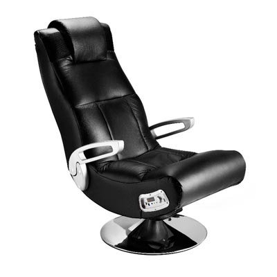 41PQWpTN1eL - Ace Bayou Xfunctional Media Furniture X-Pedestal Audio Gamer Chair