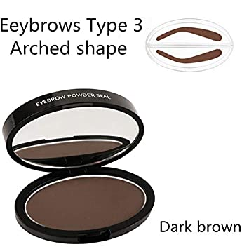 Lazy Quick Eyebrow Stamp Seal Tint Waterproof Long Lasting Eyes Brow Shadows Set Natural Shape Punch For Eyebrows Powder Palette Back To Search Resultsbeauty & Health
