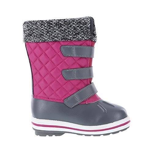Image of Rugged Outback Raspberry Grey Girls' Toddler -30 Brisk Weather Boot 12 Regular