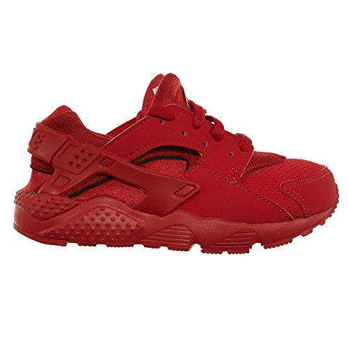 Nike Huarache Run (PS), Zapatillas de Running Para Niños Rojo (University Red / University Red)