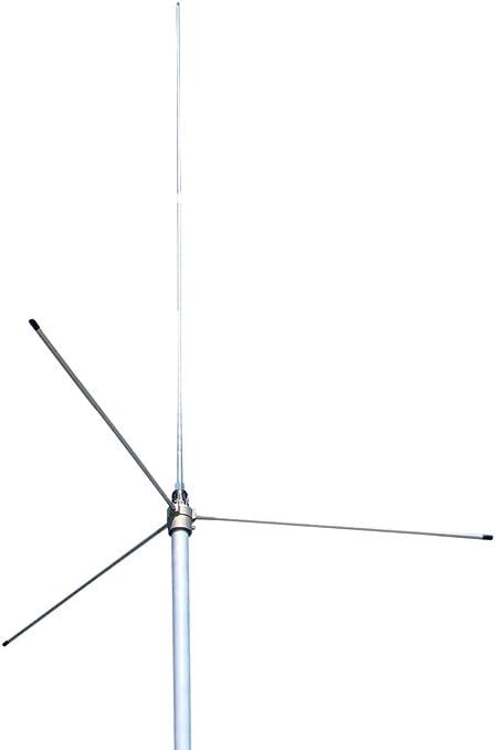 Sirio antena gp3e 140 – 175 mhz 5/8 VHF placa de masa estación base antena, 3,65 dBi