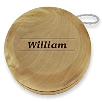 Dimension 9 William Classic Wood Yoyo with Laser Engraving