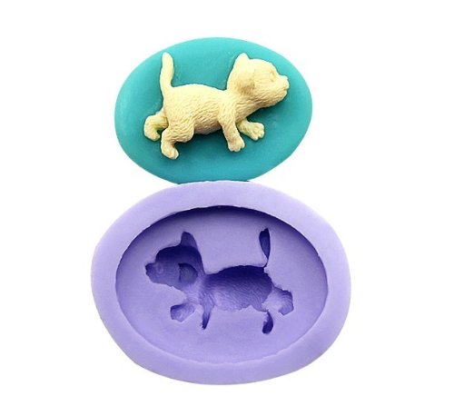 Dog Silicone Resin Clay Molds Handmade Resin Mold Polymer Clay Mold