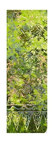 Foliage Batik - Batik Scarf - Tropical Lime, Floral