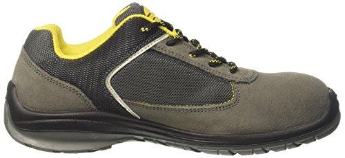 Diadora D-Blitz Low S1p, Zapatos de Trabajo Unisex Adulto Gris (Grigio Castello)