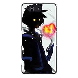 Beautiful Kingdom Hearts Phone Case Cover forSony Xperia Z3 Compact Mini Kingdom Hearts Special Design