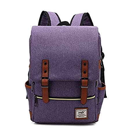 Amazon.com: Fashion Vintage Women Canvas Backpacks for Teenage Girls School Bags Large Mochilas Escolares Men Backpack: Kitchen & Dining