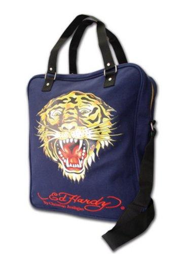 0b932e20652a Ed Hardy Tiger Case Postmanbag Bue   Blue  Amazon.co.uk  Shoes   Bags