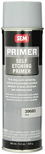 SEM 39683 Grey Self Etching Primer - 15.5 oz., Model: 39683, Outdoor&Repair Store by Hardware & Outdoor
