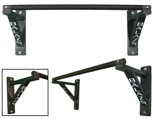 Balazs Nonadjustable Wall Mounted Pullup Bars