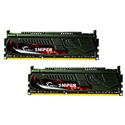 G.SKILL F3-2400C11D-16GSR Sniper 16GB (2 x 8GB) 240-pin DDR3-2400 RAM Memory
