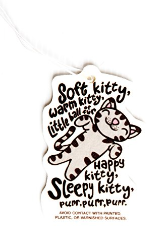 Soft Kitty Car Air Freshener - Big Bang Theory Merchandise - Funny TV Show Accessories - Fun Essential Hanging Air Freshener