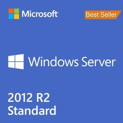 Windows server 2012 R2 standard X64 2CPU/2VM English OEI DVD 1PK DSP