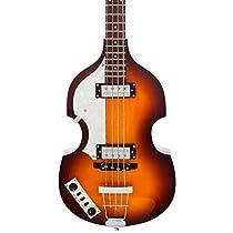 Hofner Ignition HI-BB-SB-L-O 4-String Bass Guitar, Left Handed, Sunburst