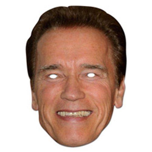 Arnold Schwarznegger Cardboard Mask–single -