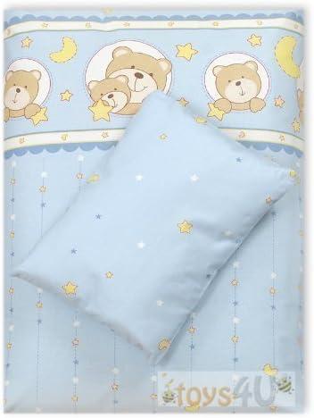 4 tlg. Algodón bebé juego de ropa de cama ropa de cama para niño ...