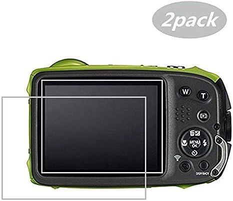 3 Clear LCD Screen Protector Film Saver For Camera FujiFilm Finepix XP120