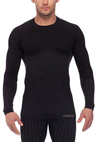 Ladeheid Herren Funktionsunterwäsche Langarm Shirt thermoaktiv 05 21