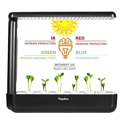 EcoQube Frame – Easy Sprouting Kit Garden for Sprouting Seeds, Herbs, Microgreens, and Broccoli Sprouts EcoQube Frame with Broccoli