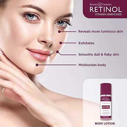 41PQbTPSLzL - Retinol Anti-Aging Body Lotion - Corrective & Preventative Relief For Dry Skin With The Original Retinol - Luxurious Treatment Smooths Dry, Flaky Skin w/ Botanical Moisturizers & Vitamin A