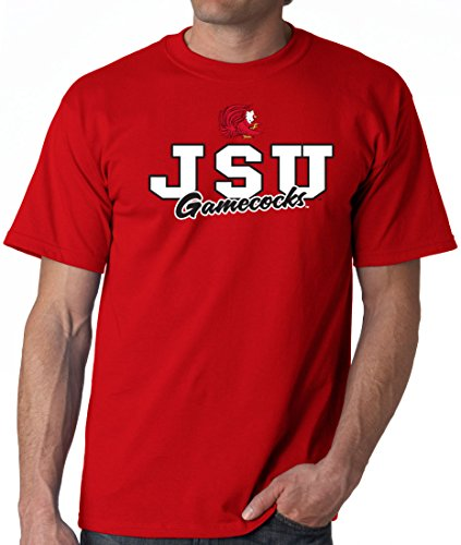J2 Sport Jacksonville State Gamecocks NCAA Campus Script Unisex T-Shirt