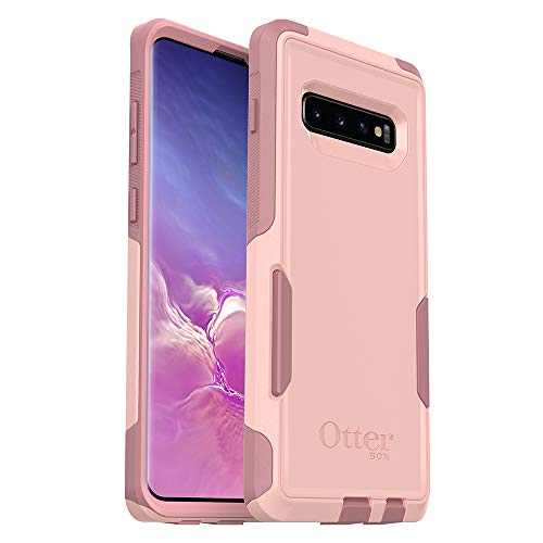OtterBox COMMUTER SERIES Case for Galaxy S10+ - Retail Packaging - BALLET WAY (PINK SALT/BLUSH) (Cheap Otterbox Cases For Galaxy Note 3)
