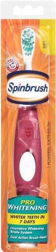 Spinbrush Prowhitening Batterie brosse à dents électrique, mous (les couleurs peuvent varier)
