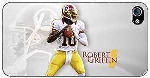 Robert Griffin III RG3 Washington Redskins NFL v6 Apple iPhone 4S - 4 Case 3102mss