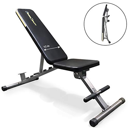 Fitness Reality 1000 Super Max Weight Bench with Upgraded Wider Backrest/Seat (2019 Version), 800 lbs. Weight Capacity ()
