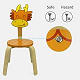 Children's' Chairs, iPlay, iLearn Chairs for Kids Playroom Chairs Animal Chairs Chairs for Toddlers Play Chairs (Dragon)
