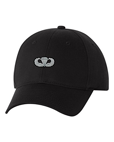 Airborne Jump Wings Custom Personalized Embroidery Embroidered Baseball Hat Cap