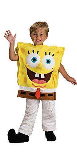 Spongebob Squarepants Costumes (Spongebob Squarepants Boys Large 12-14 Costume (Large 12/14))