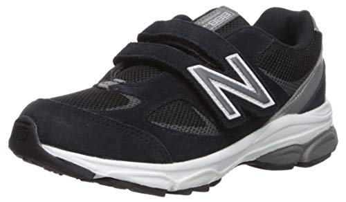 New Balance Boys' 888v2 Hook and Loop Running Shoe Black/Grey 2 XW US Infant by New Balance (Image #1)