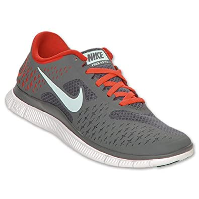 new arrival 4a0c4 660ff Image Unavailable. Image not available for. Color  NIKE Free Run 4.0 V2  Women s Running Shoes, Dark Grey Mint ...
