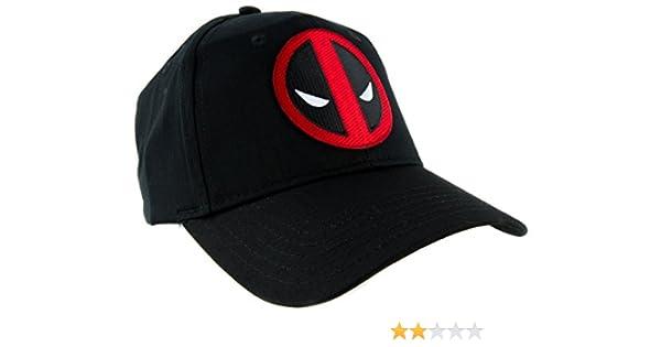 online store 6577e 4c61f Amazon.com  Deadpool Icon Logo Hat Baseball Cap Alternative Clothing Super  Hero X-Men  Clothing