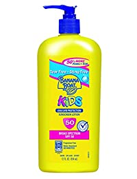 Banana Boat Sunscreen Kids Family Size Broad Spectrum Sun Care Sunscreen Lotion - SPF 50, 12 Ounce BOBEBE Online Baby Store From New York to Miami and Los Angeles