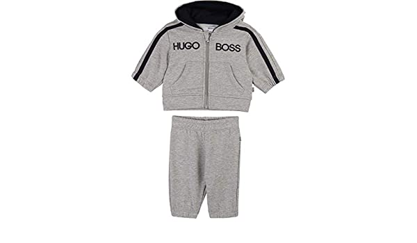 Hugo Boss - Chándal para bebé, pantalón y sudadera gris 62 cm-68 ...